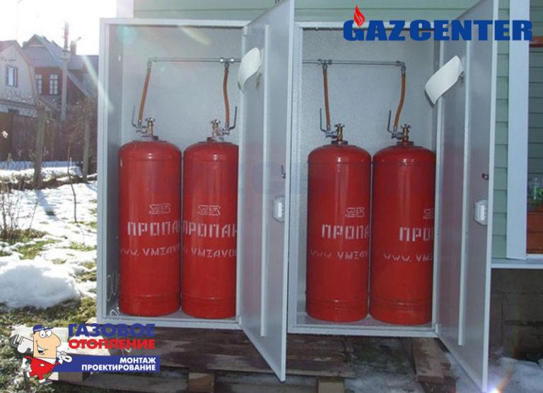 Как сделать отопление от газового баллона